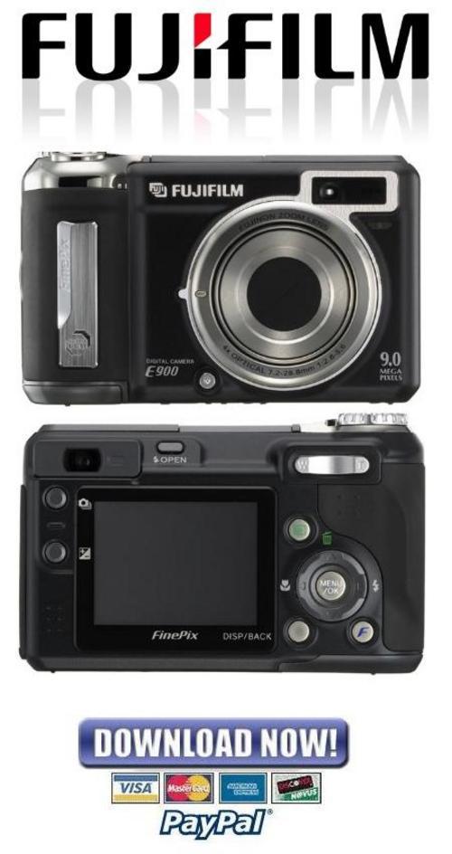 Pay for Fujifilm Fuji Finepix E900 Service Manual & Repair Guide