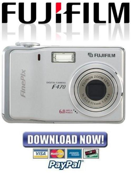 Pay for Fujifilm Fuji Finepix F470 Service Manual & Repair Guide