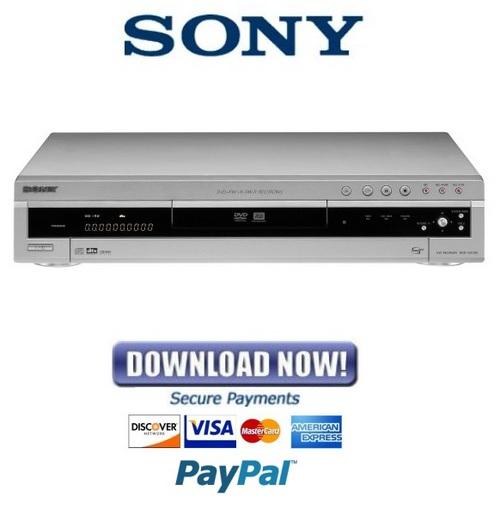 sony rdr gx300 service manual repair guide download manuals am rh tradebit com sony rdr-gx300 service manual Sony DVD