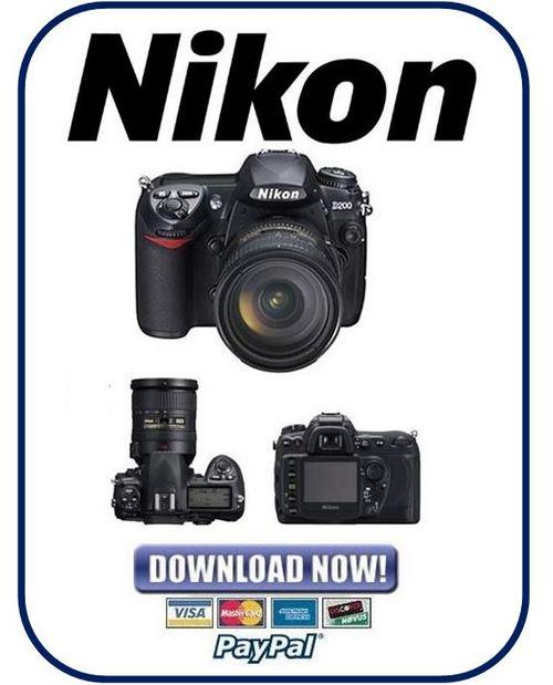 nikon d200 service manual repair guide parts list catalog downl rh tradebit com nikon d200 manual for beginners nikon d200 manual download free