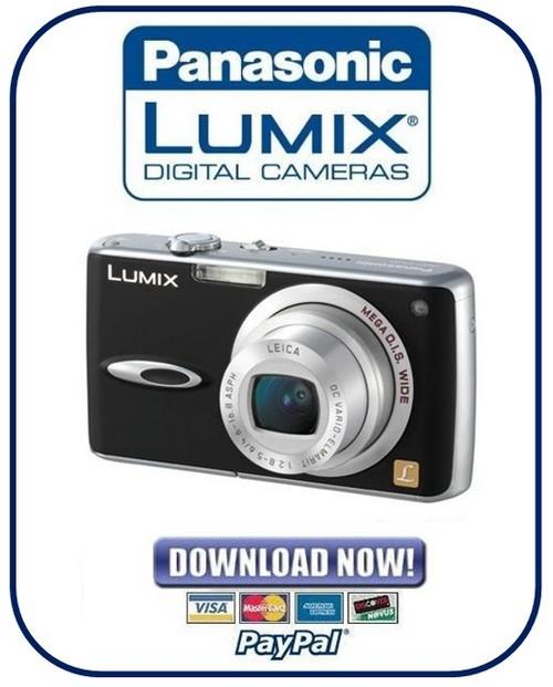 Pay for Panasonic Lumix DMC-FX01 Series Service Manual Repair Guide
