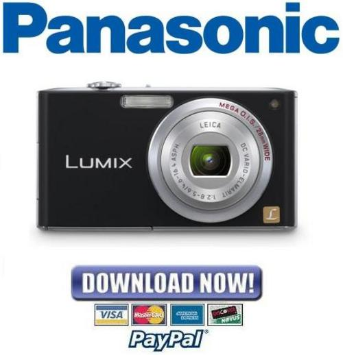 Pay for Panasonic Lumix DMC-FX33 Series Service Manual Repair Guide