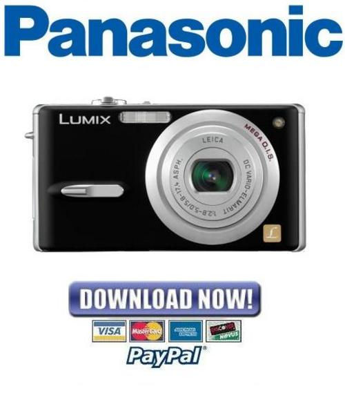 Pay for Panasonic Lumix DMC-FX9 Series Service Manual Repair Guide