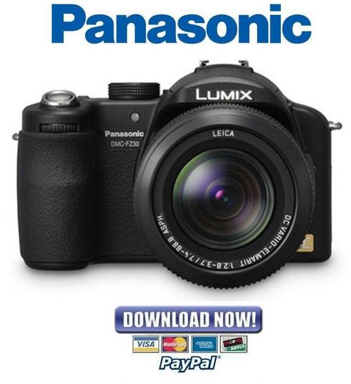 panasonic lumix dmc fz30 series service manual repair guide downl rh tradebit com