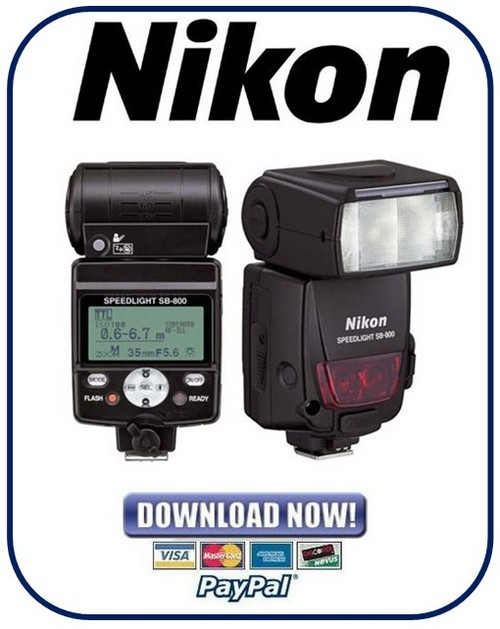 Pay for Nikon SB-800 Speedlight Service Repair Manual Package