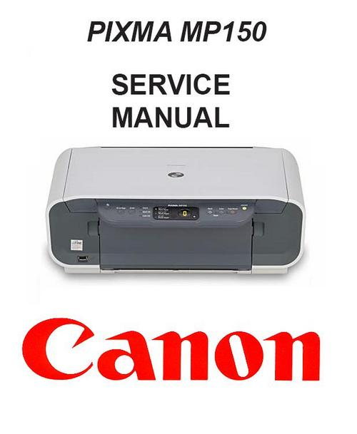 Canon Pixma Mp150 Service Manual  U0026 Repair Guide