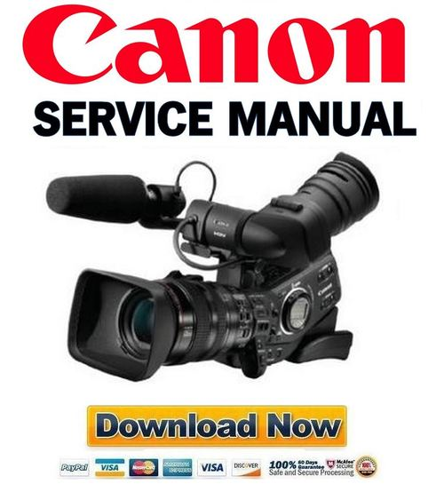 Canon Xl H1 Pal Service Manual Amp Repair Guide Download border=