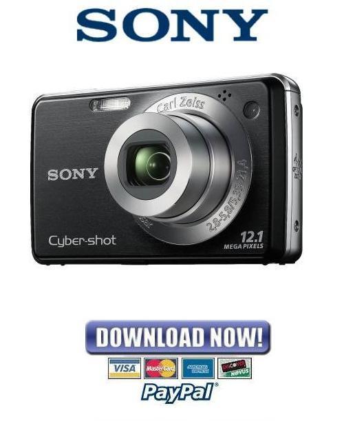 Pay for Sony Cybershot DSC-W210 DSC-W215 Service Manual Repair Guide