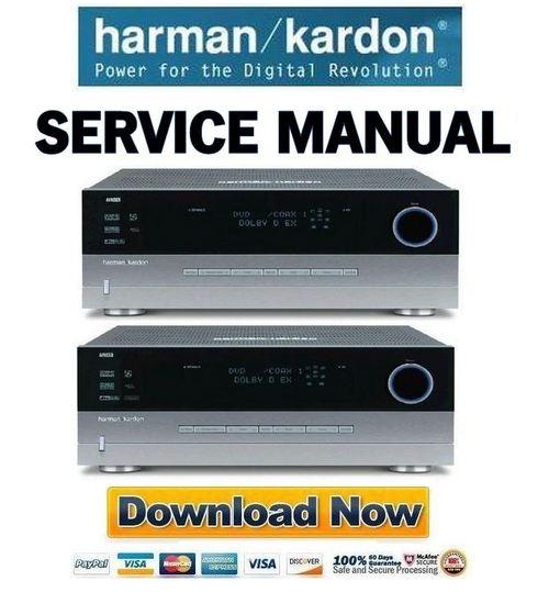 harman kardon avr 435 635 service manual repair guide downloa rh tradebit com harman kardon avr 635 service manual Harman Kardon AVR 645