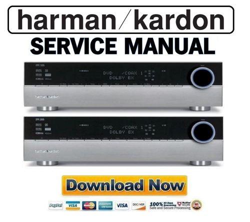Harman Kardon Dpr-1005 Dpr-2005 Service Manual Repair Guide