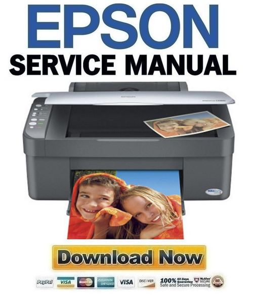 Pay for Epson Stylus CX3700 CX3800 CX3805 CX3810 Service Manual + Reset & Adjustment Software