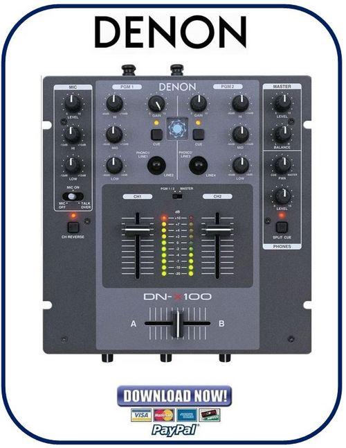 denon mc6000 manual
