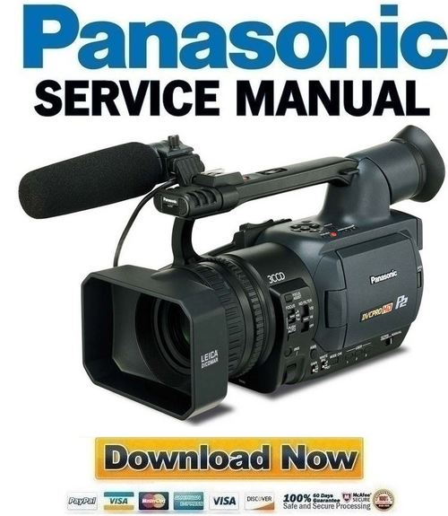 Panasonic ag-hvx200 p2 hd/mini dv camcorder.