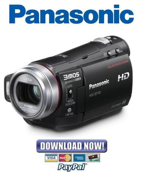panasonic hdc sd100 service manual repair guide. Black Bedroom Furniture Sets. Home Design Ideas