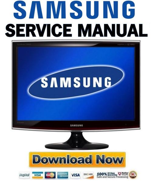 Samsung Syncmaster T260hd Service Manual  U0026 Repair Guide