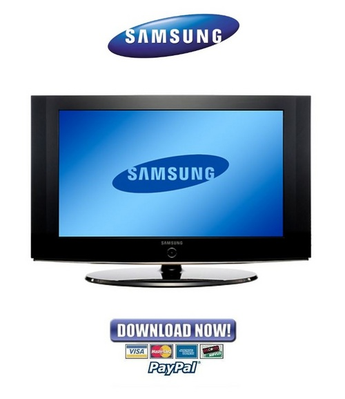 Samsung Lcd Service Manual Download