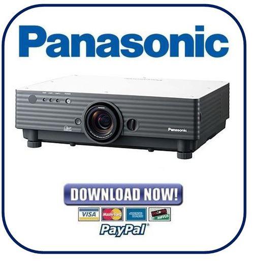Pay for Panasonic PT-D5500 Series Service Manual & Repair Guide