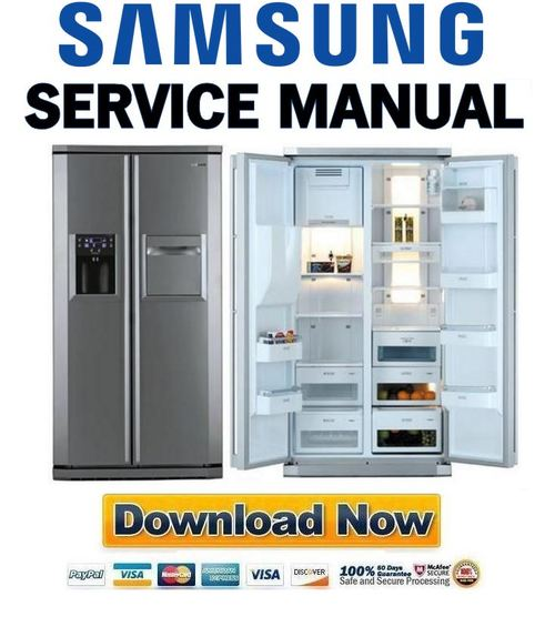 samsung french door refrigerator repair manual image refrigerator rh nabateans org Samsung Appliance Manuals Order Parts for Samsung Refrigerator