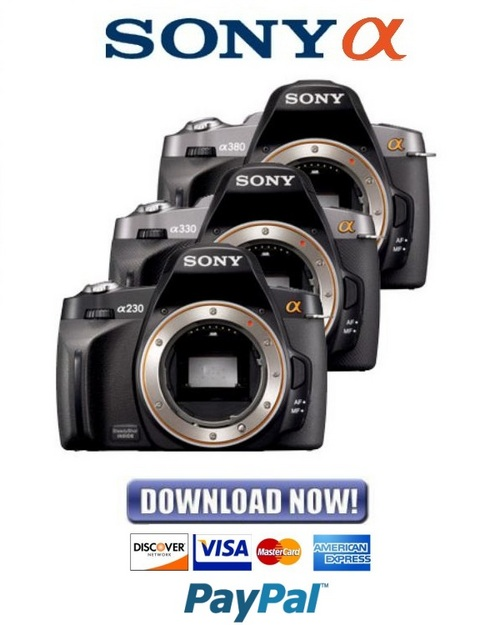 sony dslr a230 a330 a380 service manual repair guide download m rh tradebit com Sony A380 Review sony a380 camera manual