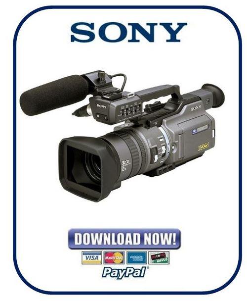 Sony dsr pd150 manual