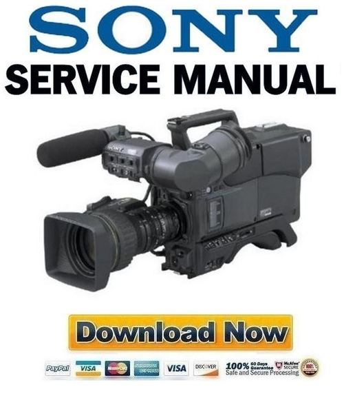 sony dxc d50 d50p d50ws d50wsp service manual repair guide down rh tradebit com Blip Scale User's Guide Manual Guide Cover