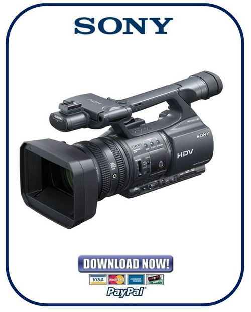 Sony hdr-fx1000 manual