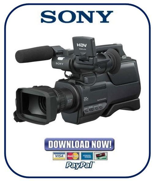sony nex vg10 manual pdf