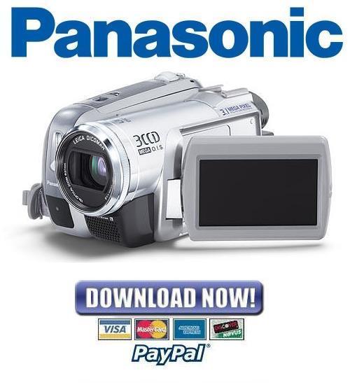 panasonic nv gs300 gs280 service manual repair guide download rh tradebit com panasonic nv-gs300 driver windows 10 panasonic nv-gs300 driver