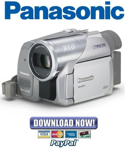 Pay for Panasonic NV-GS75 + GS78 Service Manual & Repair Guide