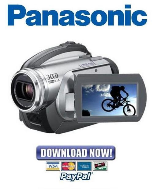 Pay for Panasonic VDR-D310 Series Service Manual & Repair Guide