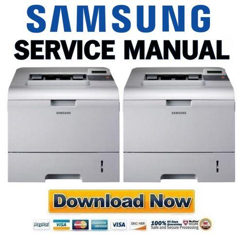 Pay for Samsung ML-4550 + 4551 Series Service Manual & Repair Guide