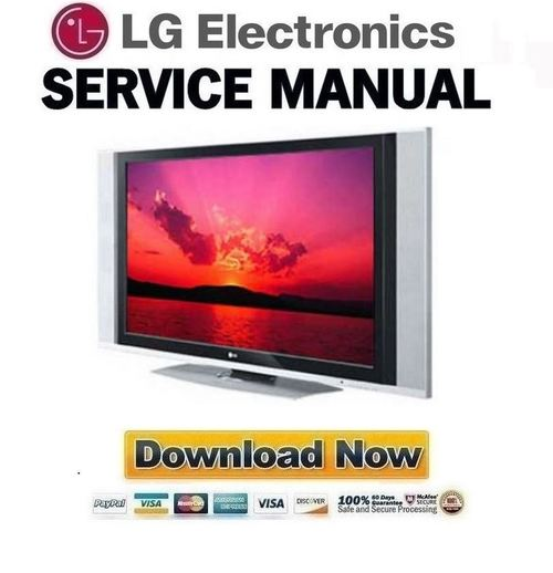 lg 42px3rv plasma tv service manual repair guide download manua rh tradebit com plasma tv repair guide lg plasma repair guide