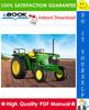 Thumbnail ☆☆ Best ☆☆ John Deere 50 Series Tractor Service Repair Manual