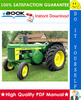 Thumbnail ☆☆ Best ☆☆ John Deere 820 Series Diesel Tractors Service Repair Manual