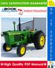 Thumbnail ☆☆ Best ☆☆ John Deere 3000 Series Wheel Tractors Service Repair Manual (SM2041)