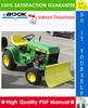 Thumbnail ☆☆ Best ☆☆ John Deere 200, 208, 210, 212, 214, 216 Lawn and Garden Tractors Service Repair Manual