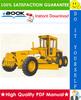 Thumbnail ☆☆ Best ☆☆ John Deere JD570, JD570A Motor Grader Technical Manual