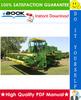Thumbnail ☆☆ Best ☆☆ John Deere 6600, Side Hill 6600, 7700 Combines Technical Manual