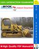 Thumbnail ☆☆ Best ☆☆ John Deere JD450B Crawler Tractor Technical Manual
