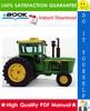 Thumbnail ☆☆ Best ☆☆ John Deere 6030 Tractor Technical Manual