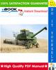 Thumbnail ☆☆ Best ☆☆ John Deere 6602 Combine Technical Manual