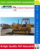 Thumbnail ☆☆ Best ☆☆ John Deere JD755 Crawler Loader Technical Manual