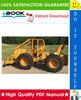 Thumbnail ☆☆ Best ☆☆ John Deere JD440-C Skidder - Grapple Skidder Technical Manual