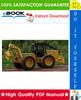 Thumbnail ☆☆ Best ☆☆ John Deere JD540-B Skidder & Grapple Skidder Repair Technical Manual