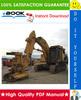 Thumbnail ☆☆ Best ☆☆ John Deere JD743 Tree Harvester, JD743 Feller-Buncher Technical Manual