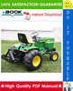 Thumbnail ☆☆ Best ☆☆ John Deere 317 Hydrostatic Tractor Technical Manual