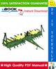 Thumbnail ☆☆ Best ☆☆ John Deere 7000 Folding Max-Emerge Planter Technical Manual