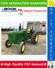 Thumbnail ☆☆ Best ☆☆ John Deere 2440 & 2640 Tractors Technical Manual