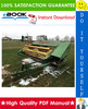 Thumbnail ☆☆ Best ☆☆ John Deere 1207, 1209, 1217, 1219 Mower-Conditioners Technical Manual