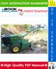 Thumbnail ☆☆ Best ☆☆ John Deere 820 Rear Tine Tiller Technical Manual